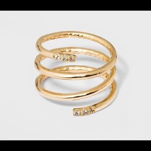 Jewelry - Gold Wrap Ring